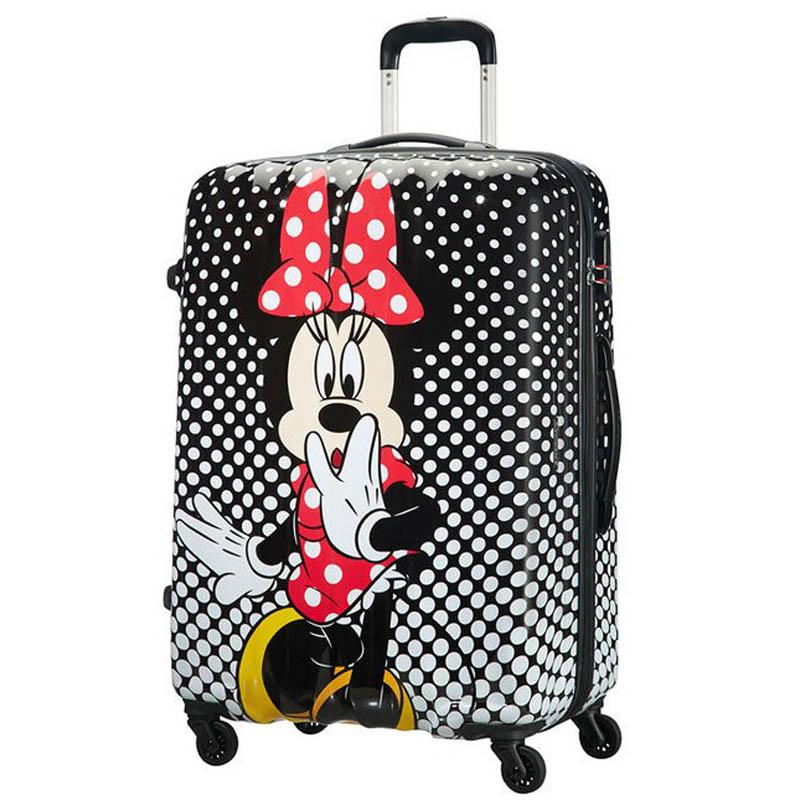 Samsonite AT Спинер на 4 колела Disney Legends 75 см Minnie Mouse Polka Dot