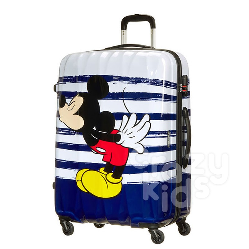 Samsonite Спинер на 4 колела Disney Legends 75 см Mickey Kiss AT