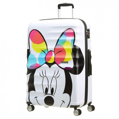 Samsonite АТ Спинер на 4 колела  Wavebreaker Minnie CloseUp