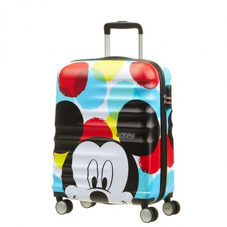 Samsonite Спинер на 4 колела Wavebreaker Mickey Close Up АТ  55 см