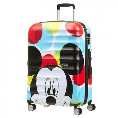 Samsonite Спинер на 4 колела Wavebreaker Mickey Close Up АТ  67 см