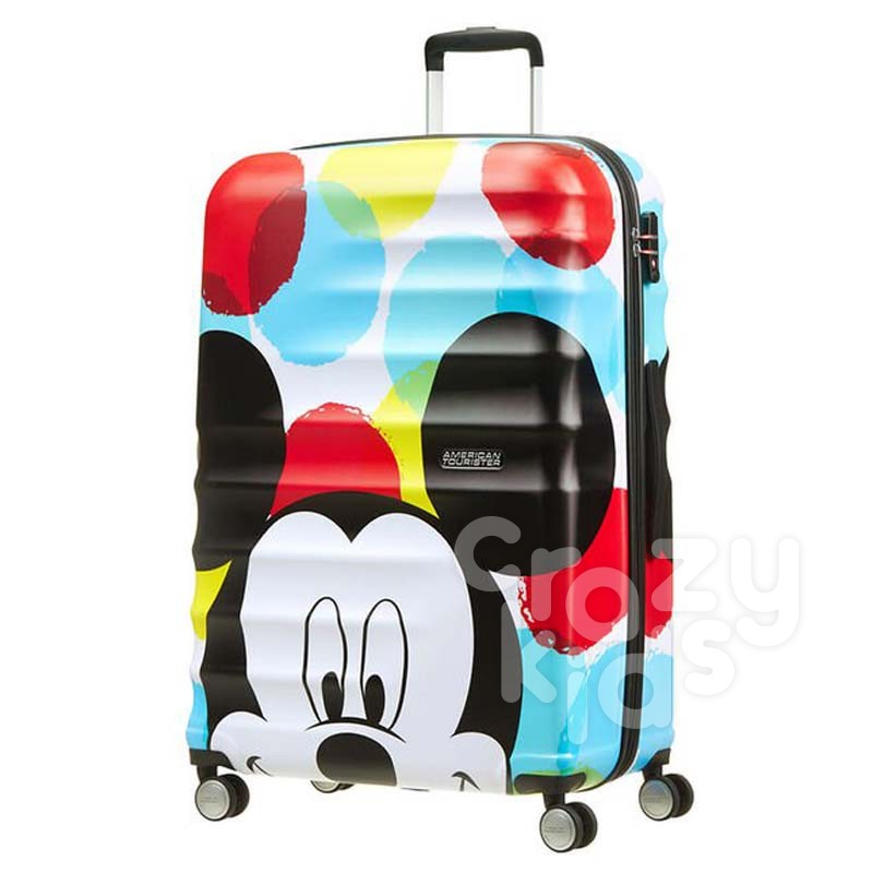 Samsonite Спинер на 4 колела Wavebreaker Mickey Close Up АТ 77 см