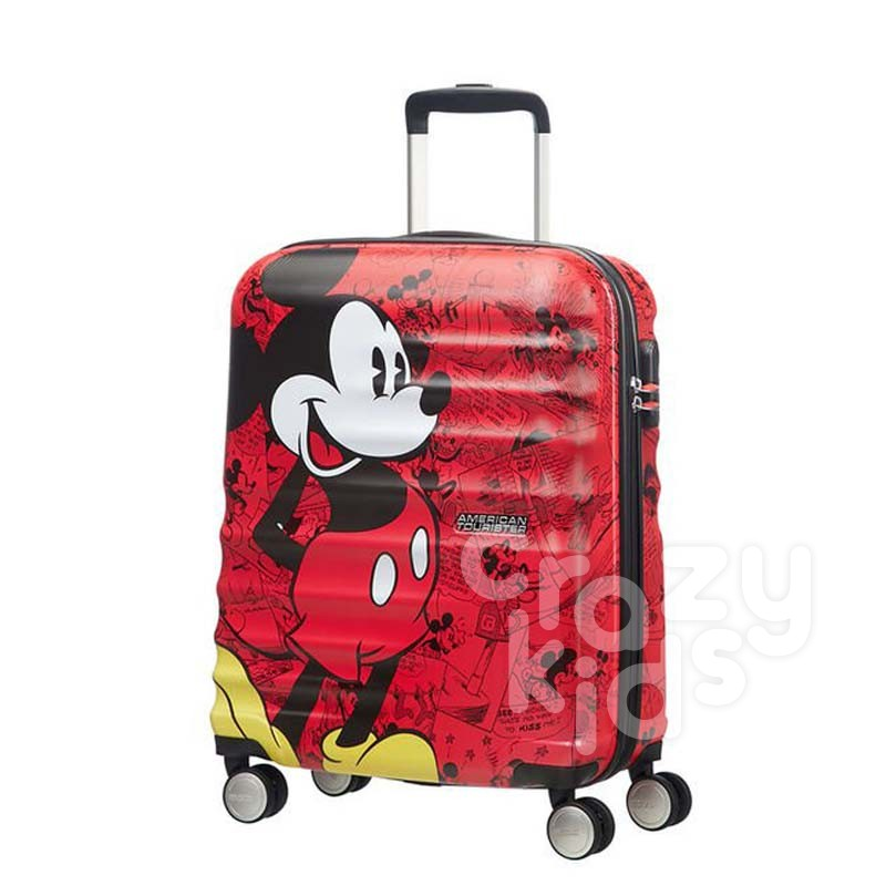 Samsonite Спинер на 4 колела Wavebreaker Mickey Comics Red АТ 55 см