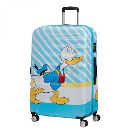 Samsonite АТ Спинер на 4 колела 77 см DONALD BLUE KISS