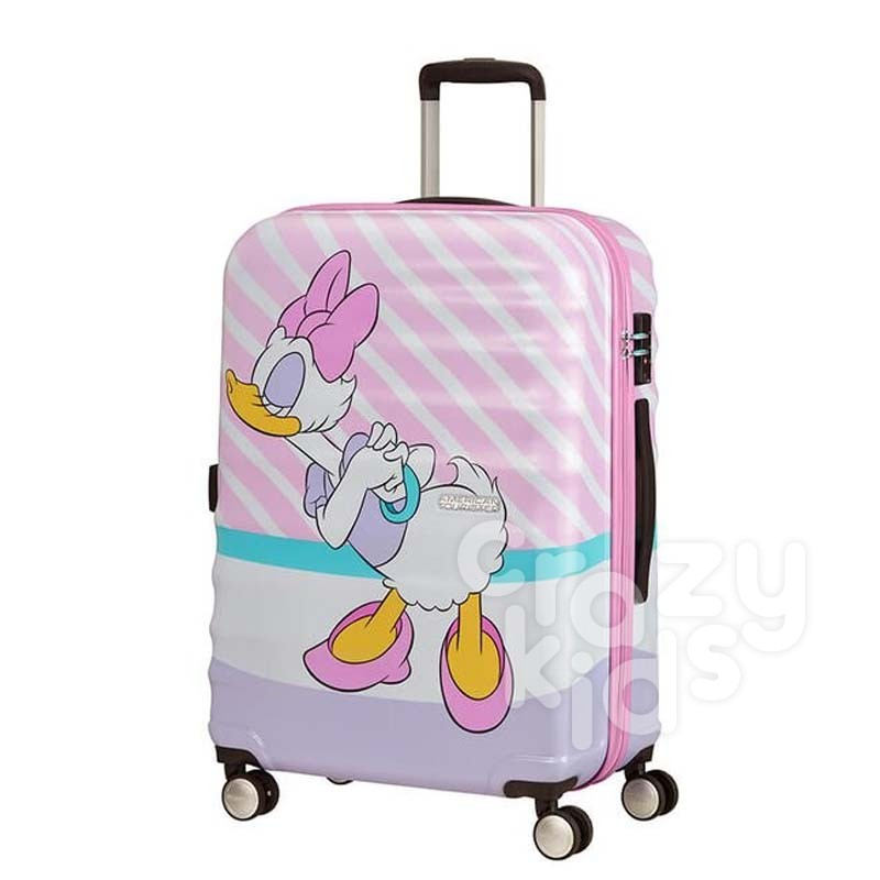 Samsonite АТ Спинер на 4 колела 67 см Wavebreaker DAISY PINK KISS