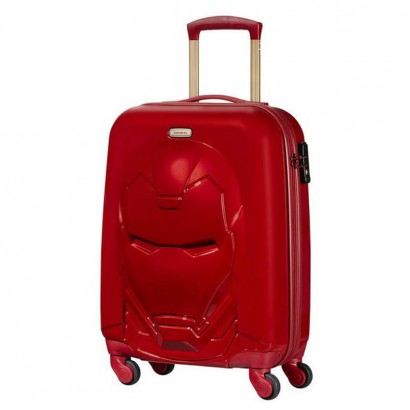 Samsonite Спинер на 4 колела 55 см Disney Ultimate 2 Iron Man Red