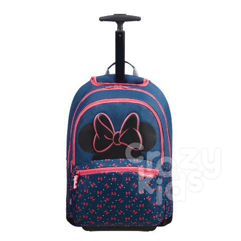 Ученическа раничка Samsonite на две колела Disney Ultimate Minnie Neon
