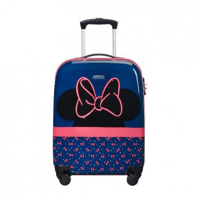 Спинер Samsonite на четири колела 54 см Disney Ultimate Minnie Neon