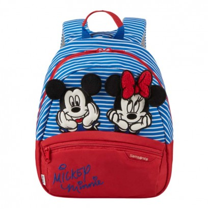 Samsonite Детска раничка S Disney Ultimate 2 Minnie Mickey strip