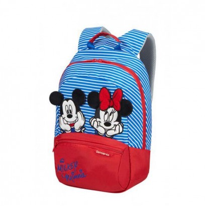 Samsonite Детска раничка S Plus Disney Ultimate 2 Minnie Mickey strip