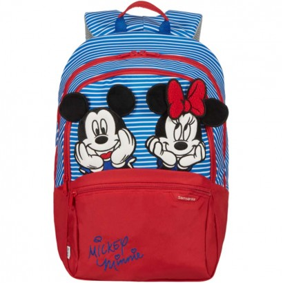 Samsonite Детска раничка M Disney Ultimate 2 Minnie Mickey strip