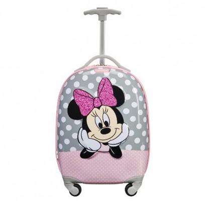 Спинер на четири колела 46 см Samsonite Disney Ultimate Minnie Glitter
