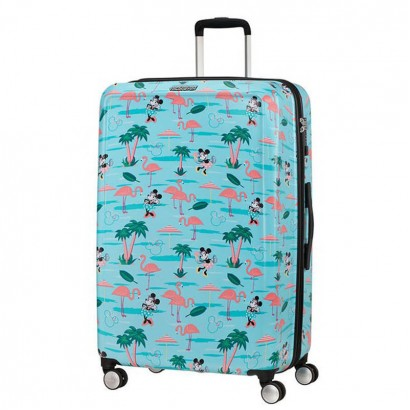 Samsonite AT Спинер на 4 колела Funlight Disney 77 см Minnie Miami Beach