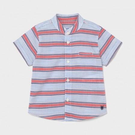 Бебешка риза за момче Mayoral с висока яка