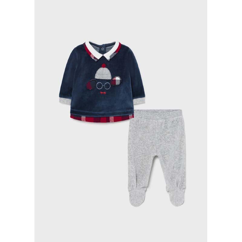 Бебешки комплект Mayoral за момче каре