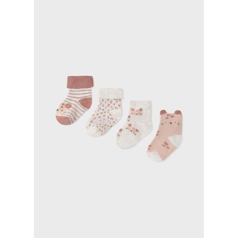 Комплект бебешки чорапи за момиче Mayoral с декорация