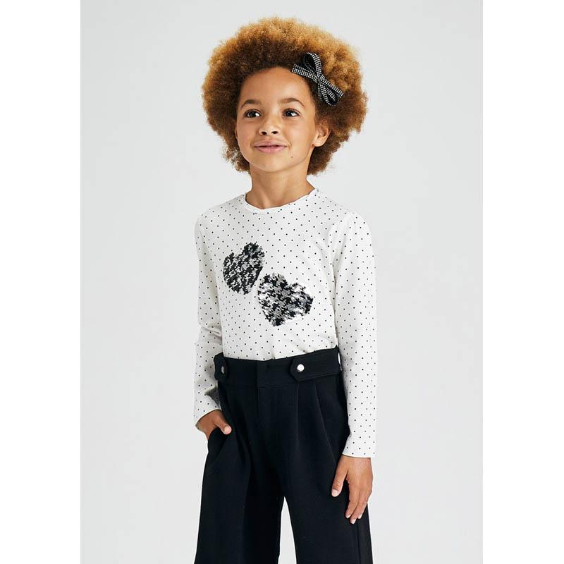 Детска блуза с принт Mayoral момиче