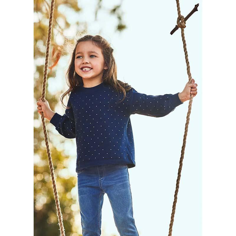 Детска блуза Mayoral с капси за момиче