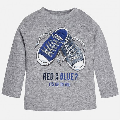 Блуза red or blue