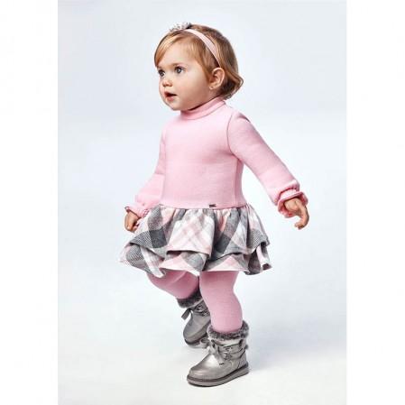 Бебешка рокля каре Mayoral за момиче