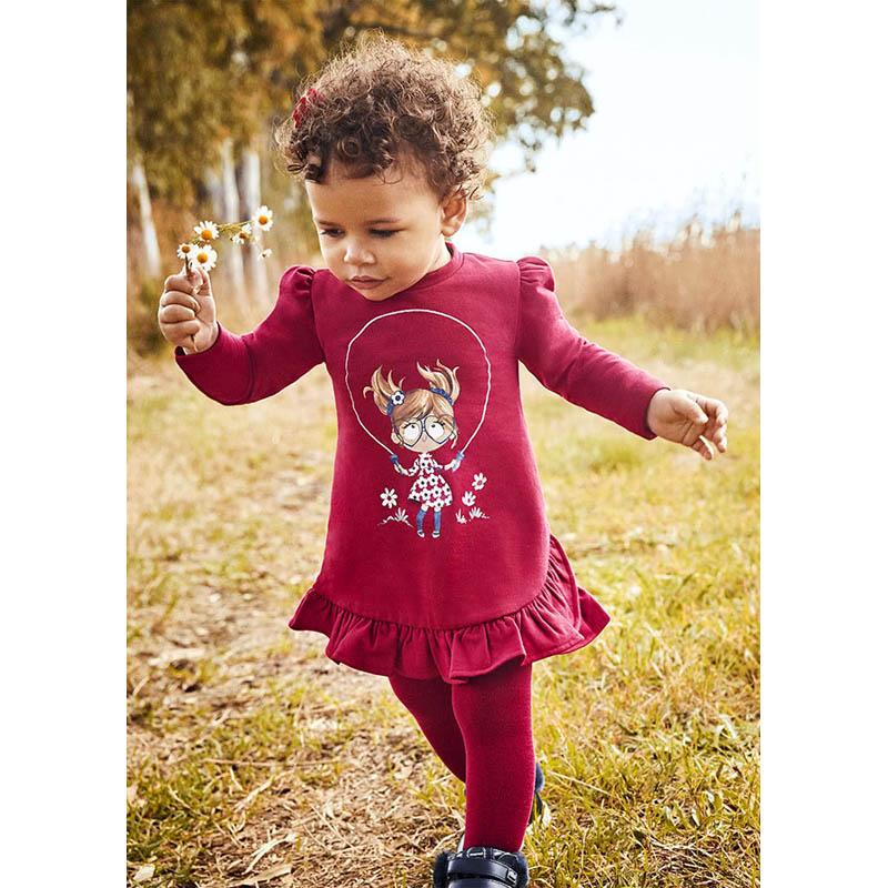 Бебешка рокля кукла Mayoral за момиче