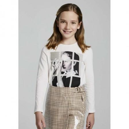 Детска блуза с принт Mayoral