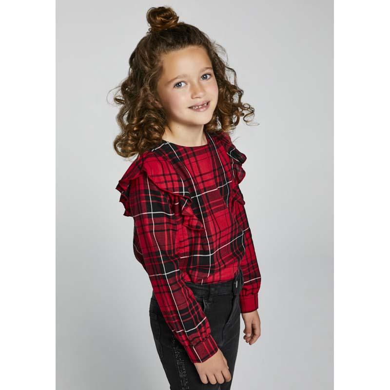 Детска блуза с волани Mayoral за момиче